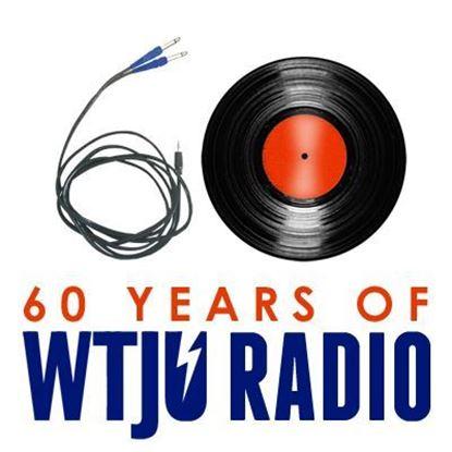 WTJU 60th Anniversary t-shirt design