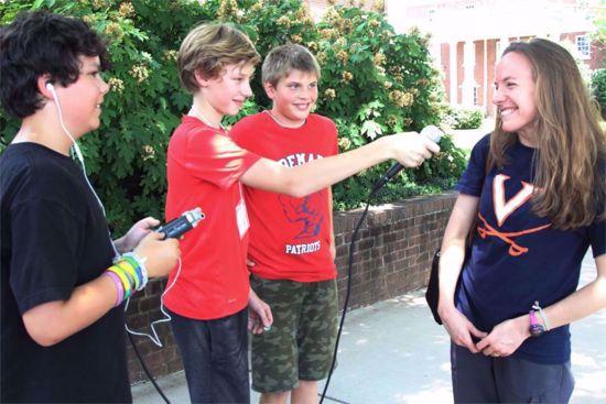 Picture of WTJU 2021 Middle School Summer Camp Registration (July 12-16)